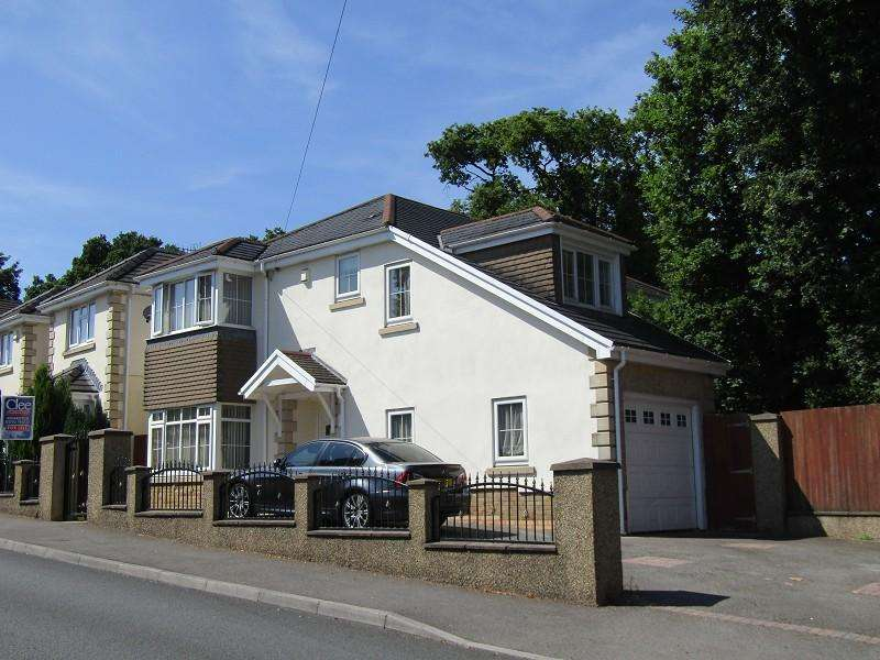 5 Bedrooms Detached House for sale in Llanllienwen Road, Cwmrhydyceirw, Swansea, City And County of Swansea.