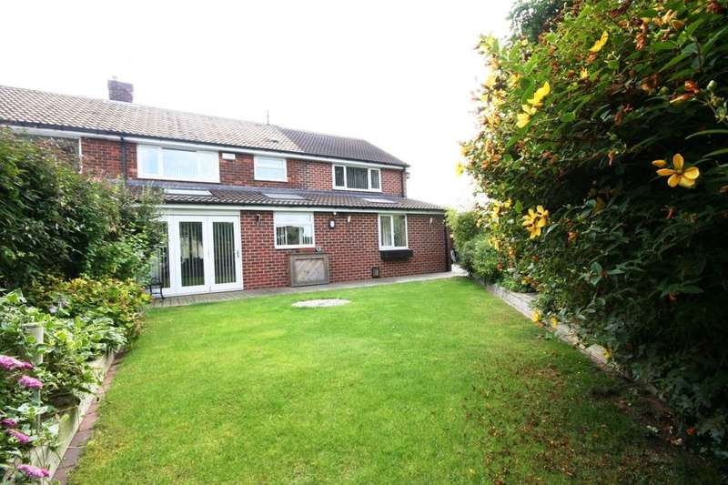 4 Bedrooms Semi Detached House for sale in Yearby Close, Acklam, Middlesbrough, TS5