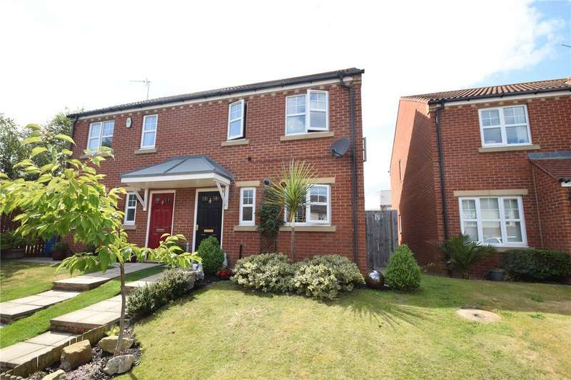 3 Bedrooms Semi Detached House for sale in Goswick Way, East Shore Village, Seaham, Co. Durham, SR7