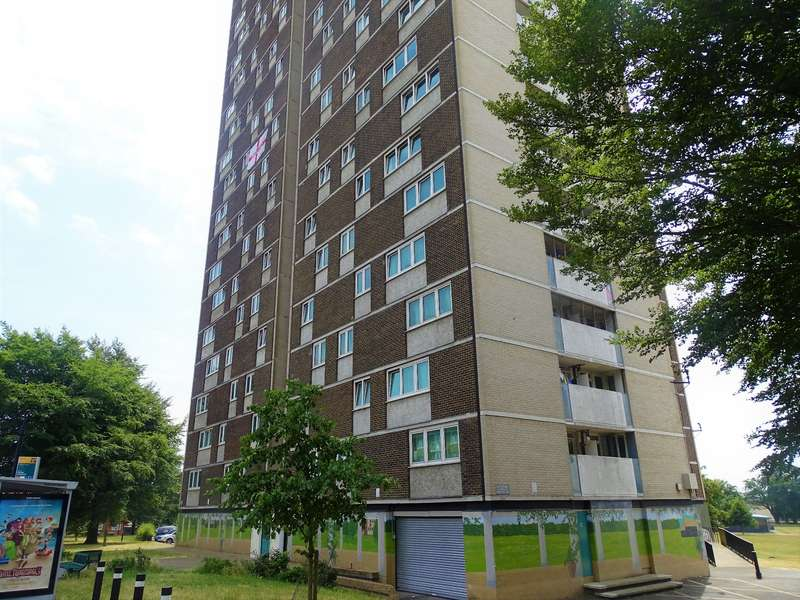 2 Bedrooms Flat for sale in Millbrook Towers, Southampton