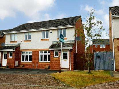3 Bedrooms Semi Detached House for sale in Lagavulin Place, Kilmarnock, East Ayrshire