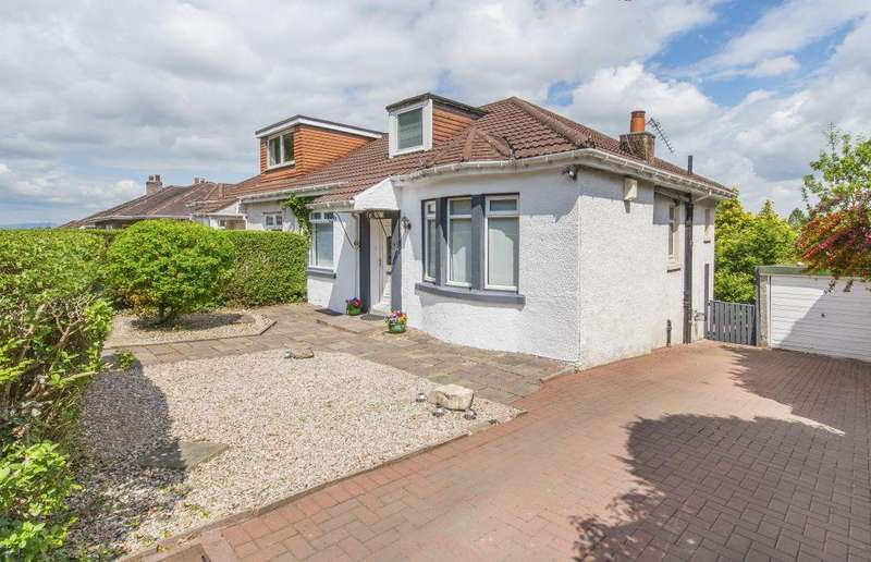 2 Bedrooms Semi Detached Bungalow for sale in 97 Calderwood Road, Rutherglen, Glasgow, G73 3PJ