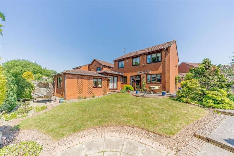 5 Bedrooms Detached House for sale in Cottage Lane, Marlbrook, Bromsgrove, Worcestershire