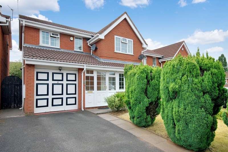 4 Bedrooms Detached House for sale in Elwells Close, Sedgemoor Park, Bilston WV14