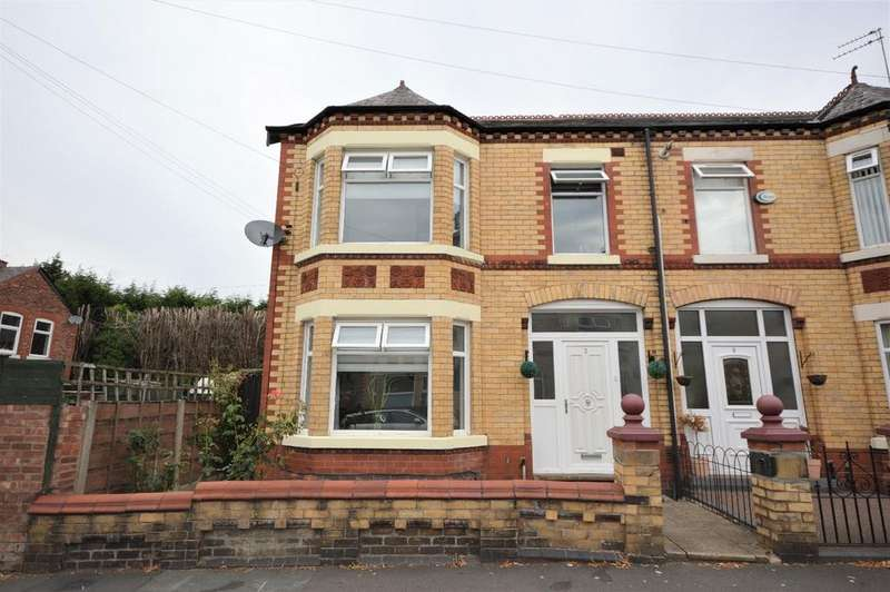 4 Bedrooms Semi Detached House for sale in Woodville Grove, Stockport