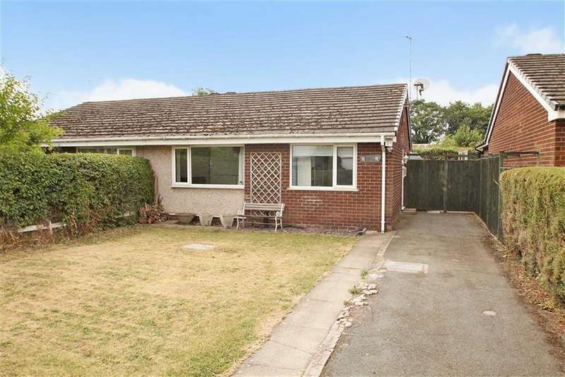 2 Bedrooms Semi Detached Bungalow for sale in Crogen, Chirk