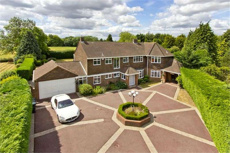 5 Bedrooms Detached House for sale in Meopham Green, Meopham, Gravesend, Kent