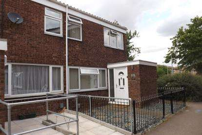 3 Bedrooms End Of Terrace House for sale in Cauldwell Court, Sandy, Bedfordshire