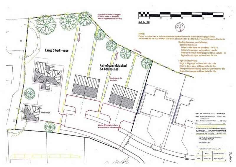 Land Commercial for sale in Plots At Caer Wylan, Cefnllan, Llanbadarn Fawr, Aberystwyth, SY23
