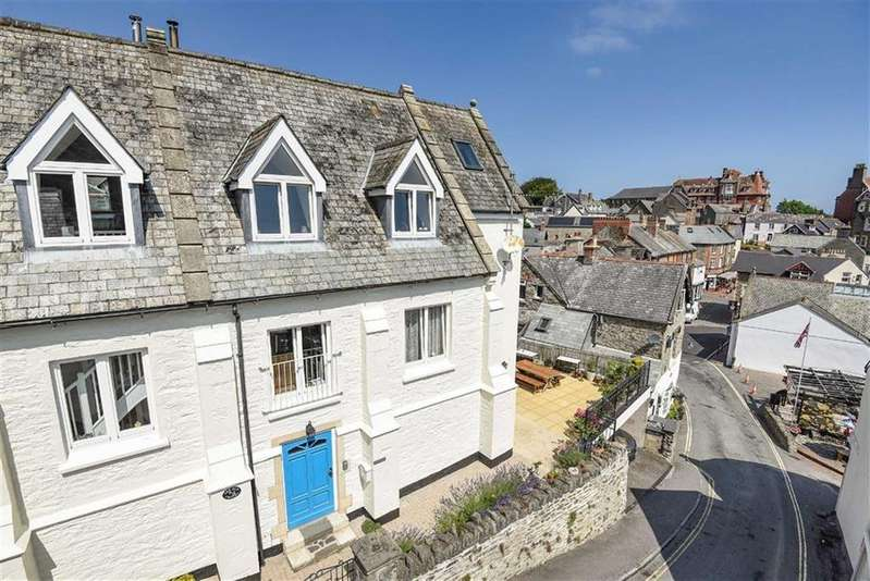 4 Bedrooms Semi Detached House for sale in The Old Chapel, Sinai Hill, Lynton, Devon, EX35