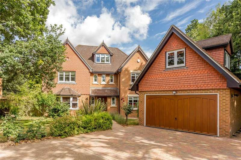 5 Bedrooms Detached House for sale in Kilnside, Goughs Lane, Warfield, Berkshire