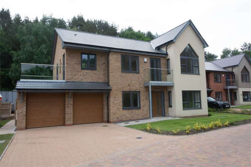 4 Bedrooms Detached House for sale in Fallow Park, Rugeley Road, Hednesford, Cannock, WS12
