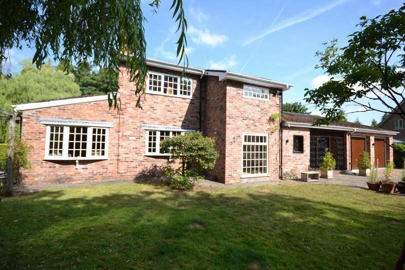 4 Bedrooms Detached House for sale in Forty Acre Lane, Twemlow Green