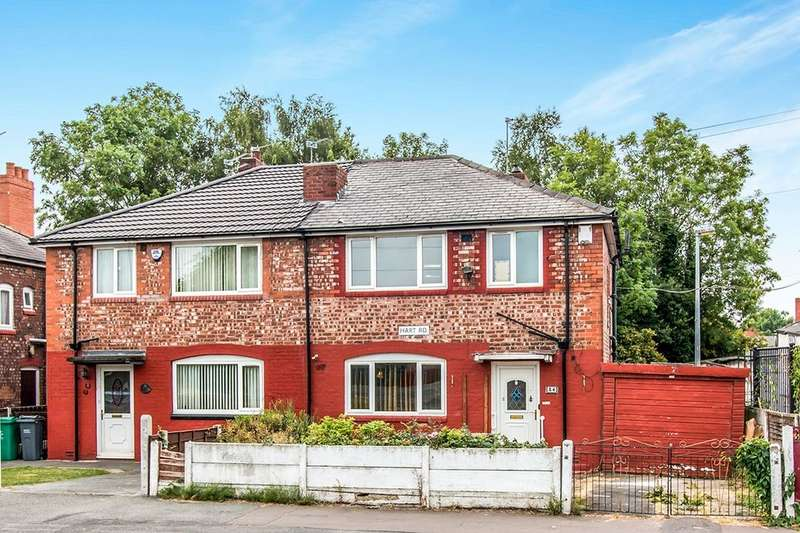 3 Bedrooms Semi Detached House for sale in Hart Road, Fallowfield , Manchester, M14