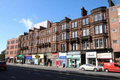 2 Bedrooms Flat for sale in 1624 Great Western Road, Anniesland, Glasgow