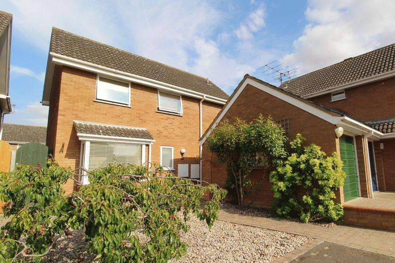 3 Bedrooms Detached House for sale in Kingfisher Close, Biggleswade