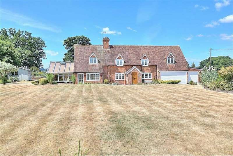 5 Bedrooms Detached House for sale in Whitenap Lane, Romsey, Hampshire