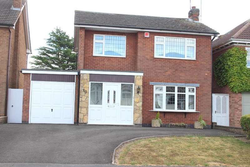 3 Bedrooms Detached House for sale in Sharpless Road, Burbage, Hinckley