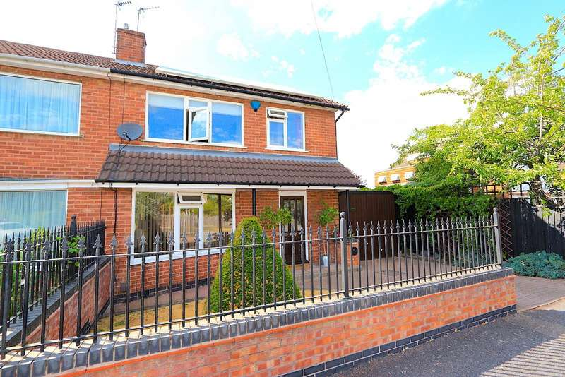 3 Bedrooms Detached House for sale in Faire Road, Glenfield