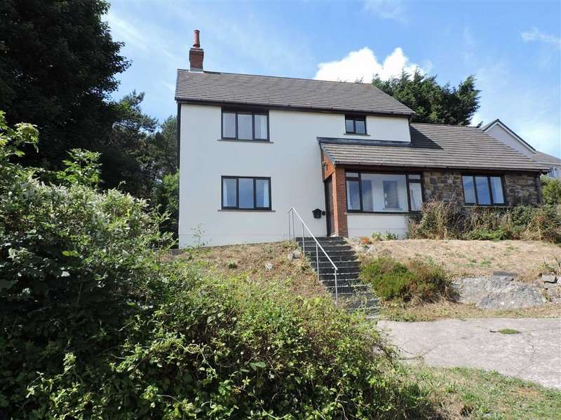 4 Bedrooms Detached House for sale in Precelly Crescent, Stop And Call, Goodwick