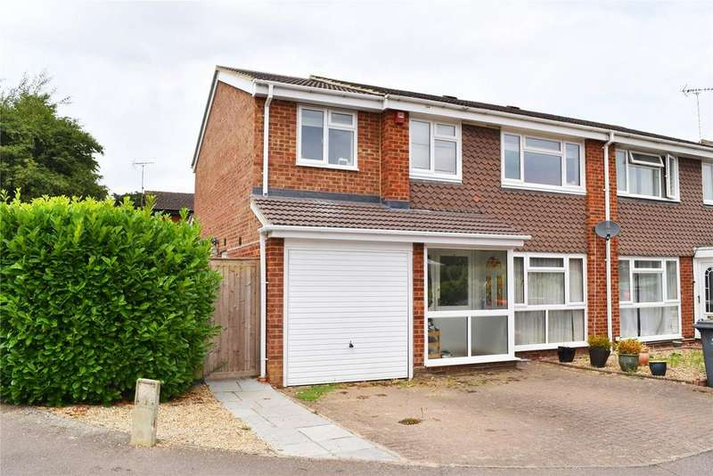 4 Bedrooms Semi Detached House for sale in Grange Close, Linslade