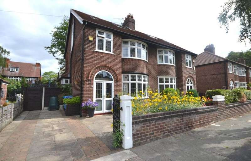 4 Bedrooms Semi Detached House for sale in Westholme Road, Didsbury