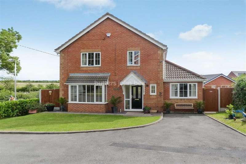 5 Bedrooms Detached House for sale in Maw Green Close, Crewe