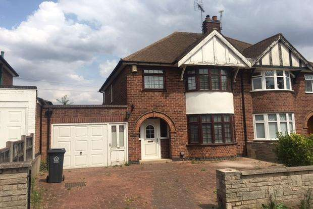 3 Bedrooms Semi Detached House for sale in Glenfield Road, Leicester, LE3