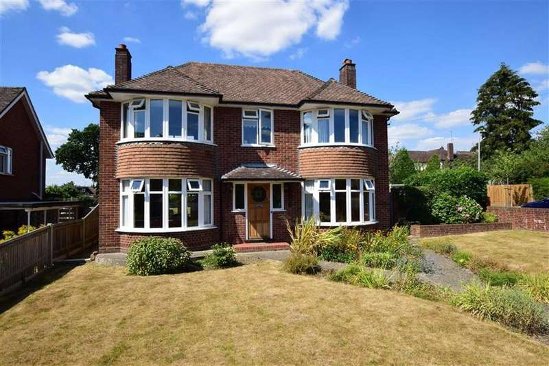 4 Bedrooms Detached House for sale in Courtenay Drive, Emmer Green, Reading