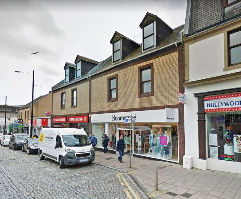 Retail Property (high Street) Commercial for sale in 21, West Blackhall Street, Greenock