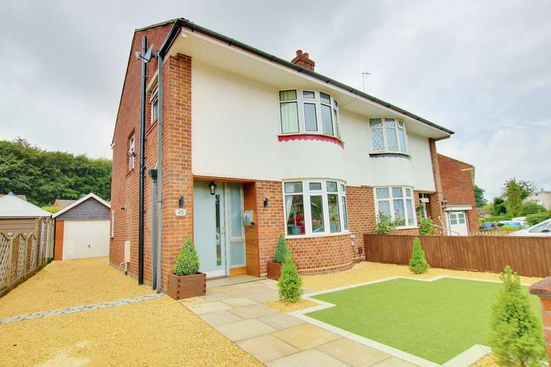 3 Bedrooms Semi Detached House for sale in Ellis Road, Thornhill