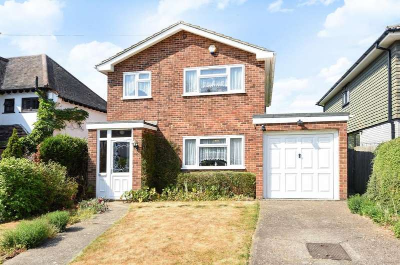 3 Bedrooms Detached House for sale in Greencourt Road Petts Wood BR5
