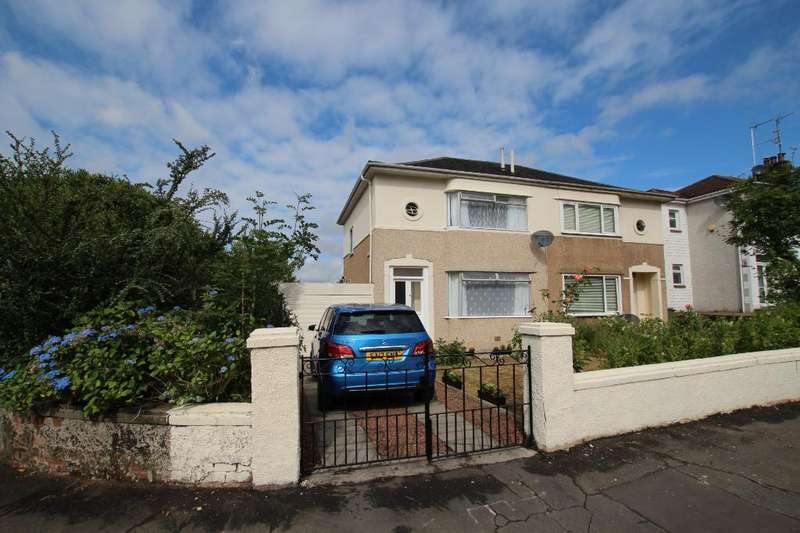 3 Bedrooms Semi Detached House for sale in Keal Place, Blairdardie, Glasgow, G15 6UZ