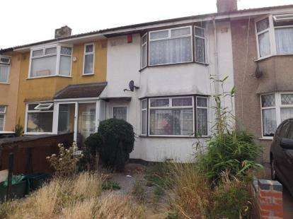 3 Bedrooms Terraced House for sale in Wallscourt Road, Filton, Bristol
