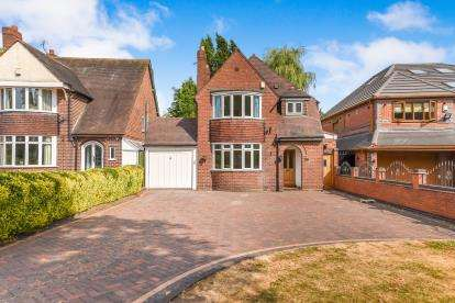 3 Bedrooms Detached House for sale in Broadway North, Walsall