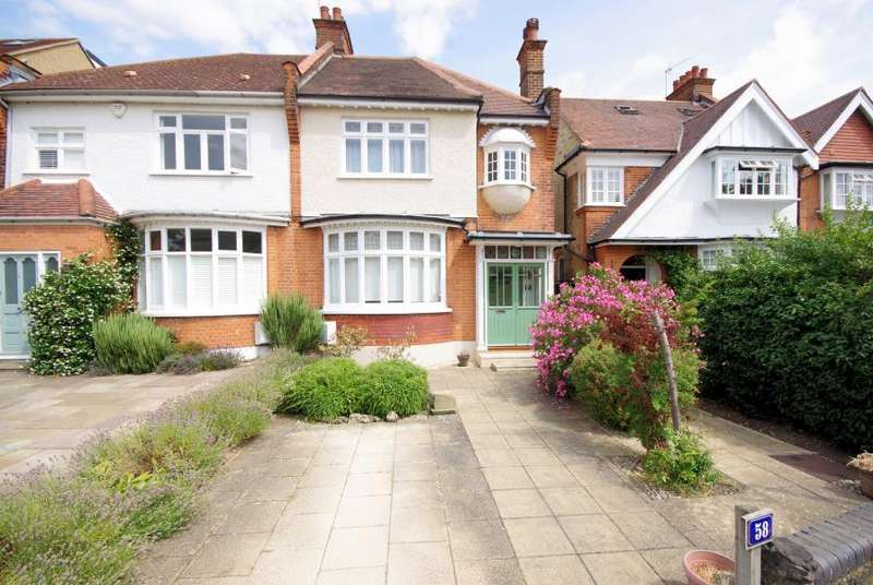 4 Bedrooms Semi Detached House for sale in HOLDENHURST AVENUE, FINCHLEY, N12