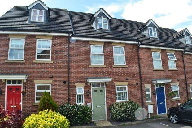 4 Bedrooms Terraced House for sale in Dunmore Road, Market Harborough, LE16