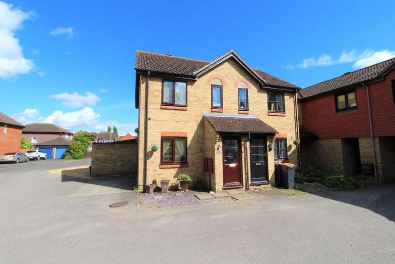 2 Bedrooms End Of Terrace House for sale in Warden Abbey, Riverfield Drive, Bedford MK41
