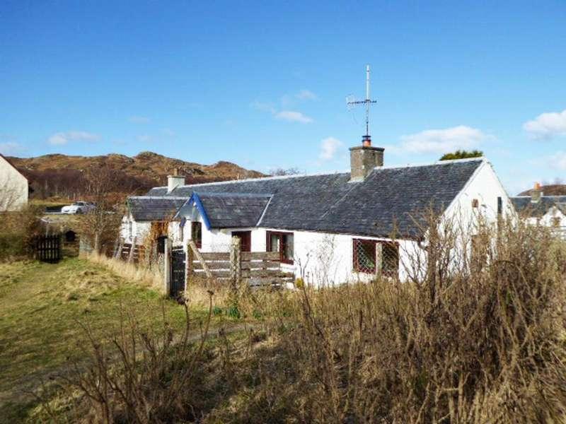 2 Bedrooms Cottage House for sale in 2 Tougal, Morar, Morar Sands