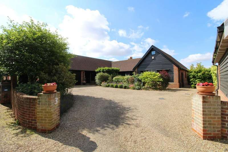 4 Bedrooms Detached Bungalow for sale in Benhall, Nr Saxmundham, Suffolk