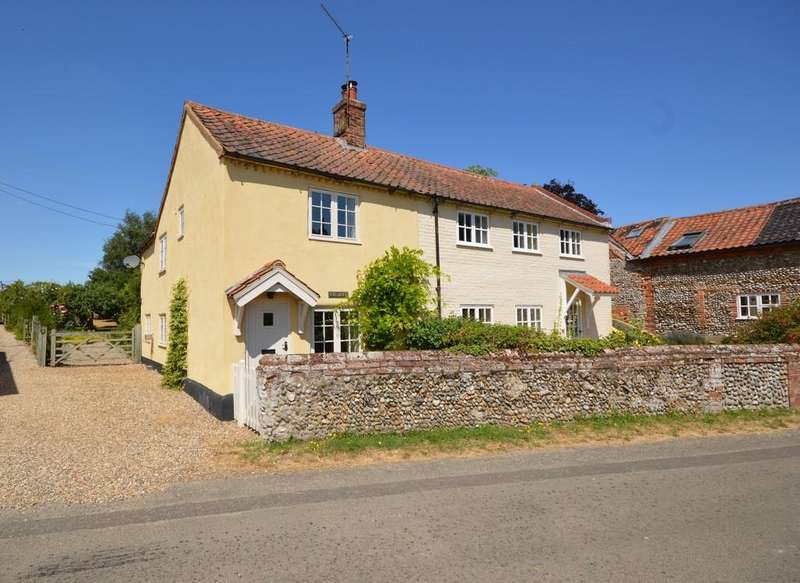 3 Bedrooms End Of Terrace House for sale in Stody Road, Brinton, Norfolk