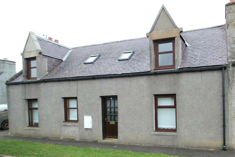 2 Bedrooms End Of Terrace House for sale in Hill Street, Newmill, Keith, AB55