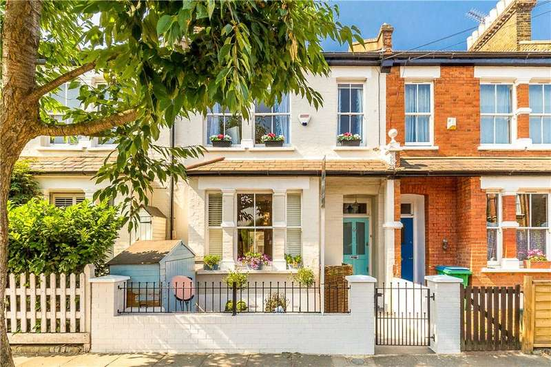 4 Bedrooms Terraced House for sale in Cleveland Gardens, Barnes, SW13