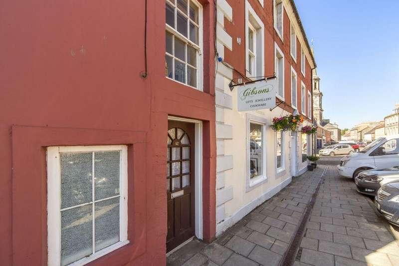 1 Bedroom Terraced House for sale in 62 Market Street, Haddington, East Lothian EH41 3JG