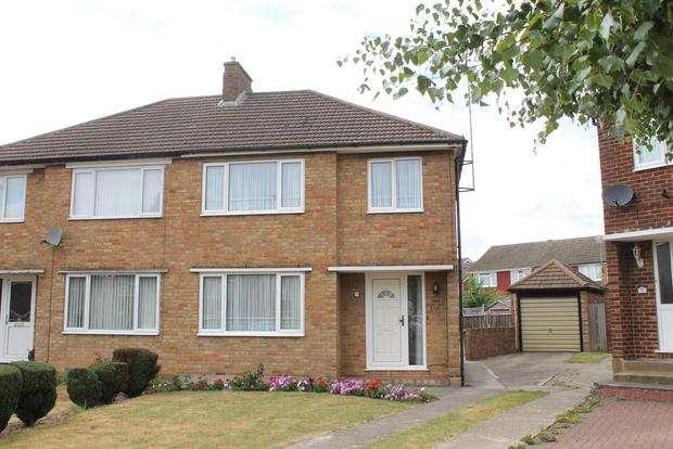 3 Bedrooms Semi Detached House for sale in Cranbrook Drive, Luton, LU3