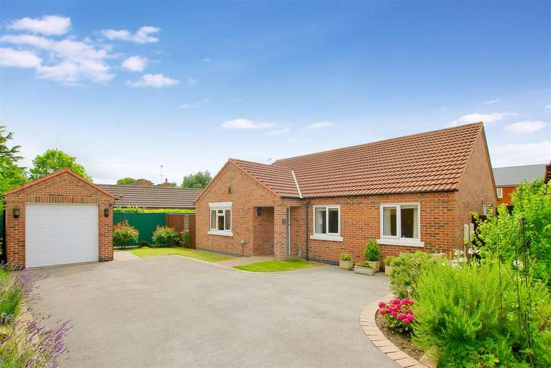 3 Bedrooms Bungalow for sale in Brisson Close, Grantham
