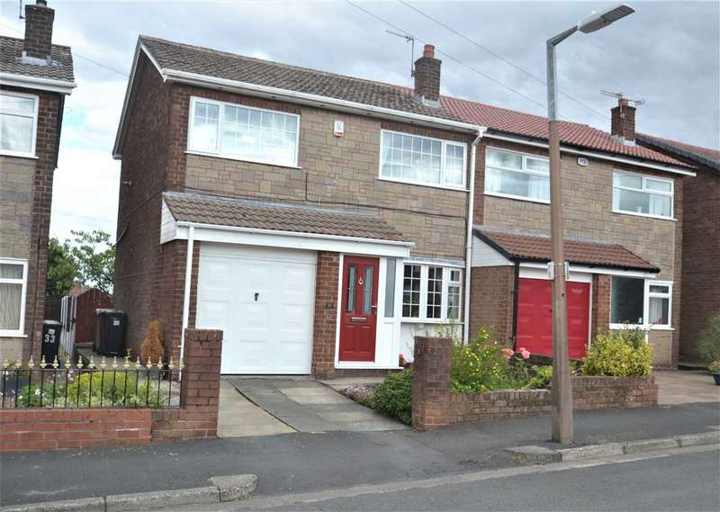 3 Bedrooms Semi Detached House for sale in Heathfield Drive, Bolton