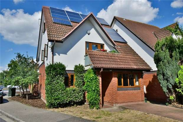 4 Bedrooms Detached House for sale in Wren Drive, WEST DRAYTON, Middlesex