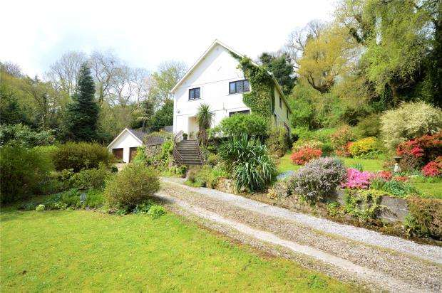 5 Bedrooms Detached House for sale in Lustleigh, Devon