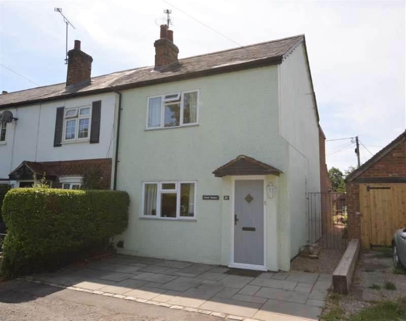 2 Bedrooms End Of Terrace House for sale in Kennet Cottages, Pingewood Road Burghfield, Reading, RG30